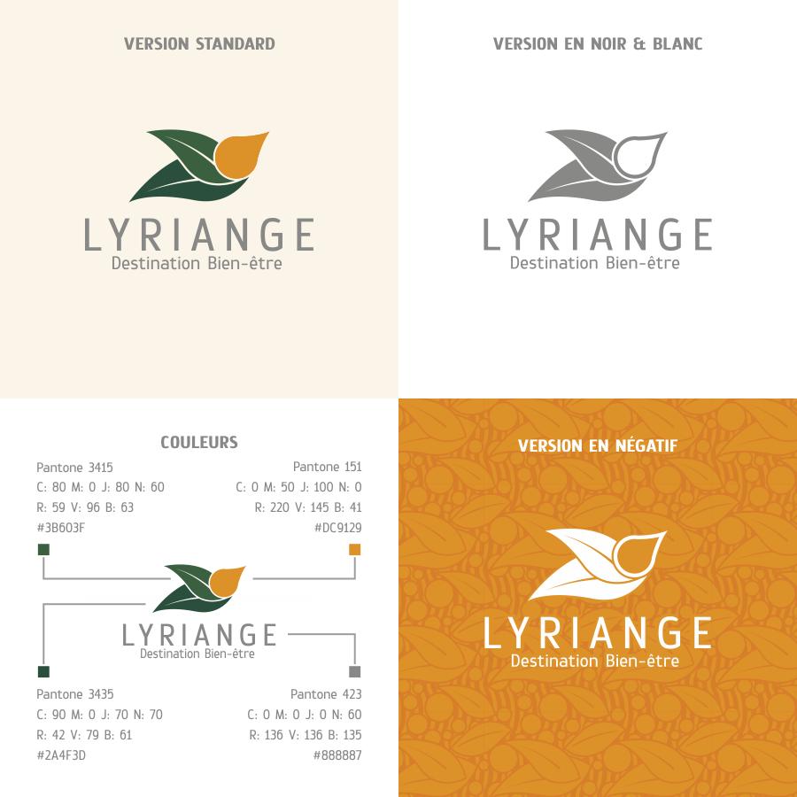 Création logo lyriange: variantes