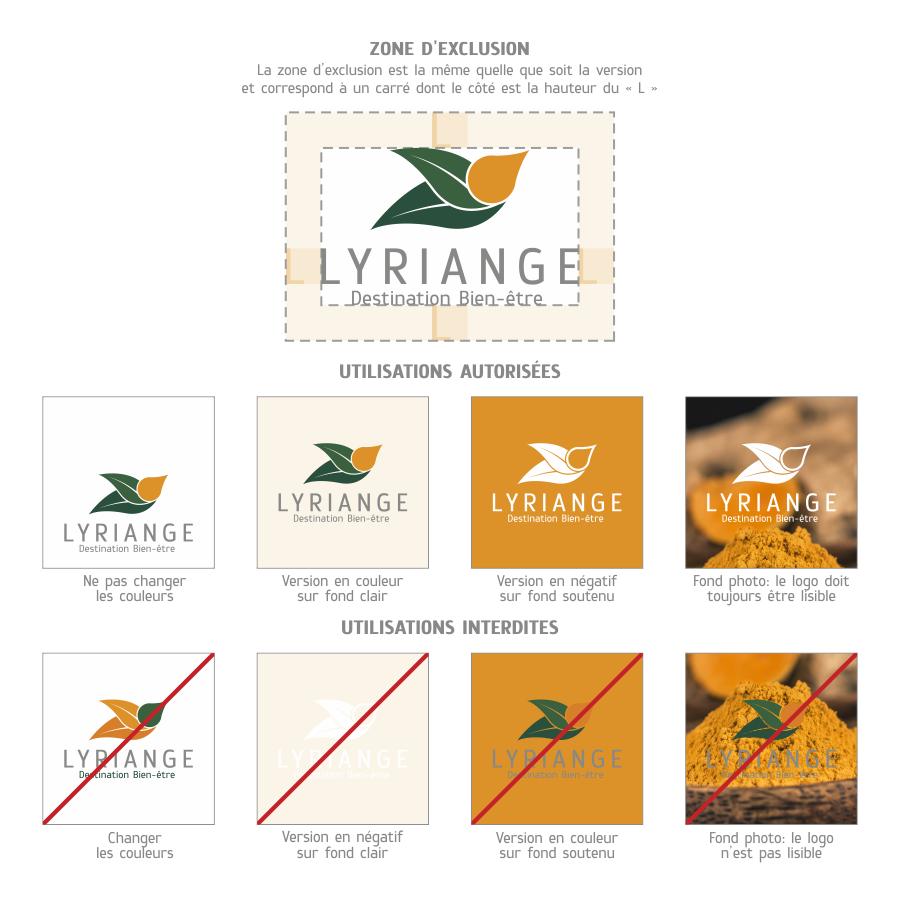 Création logo lyriange: autorisations