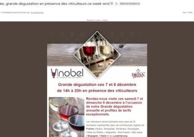 Newsletter Vinobel