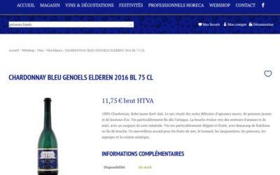 Site de vente en ligne pour un brasseur